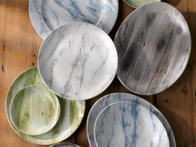 Overhead-non-food-various-textured-prints-plates-portrait1